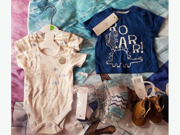 baby boys 0-3 month bundle BNWT