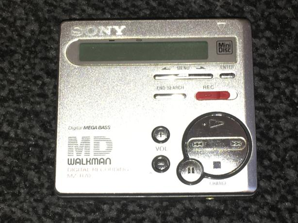 Sony Mini Disc Walkman Bundle