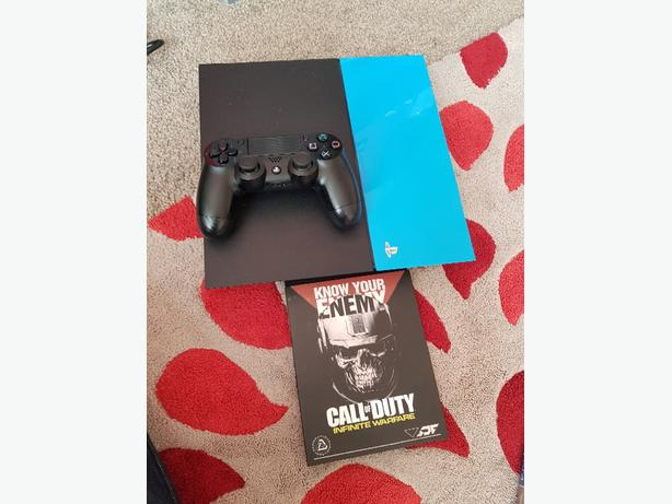 ps4 with 1x controller and call of duty