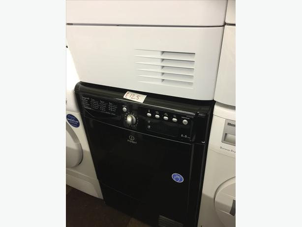 BLACK 8KG INDESIT CONDENSER DRYER GOOD CONDITION🌎🌎PLANET APPLIANCE🌎