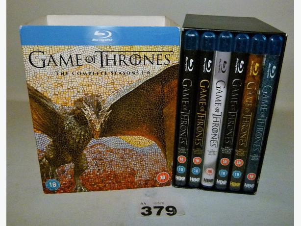 Game of Thrones DVD Boxed Set Blu Ray 1-6 series Complete