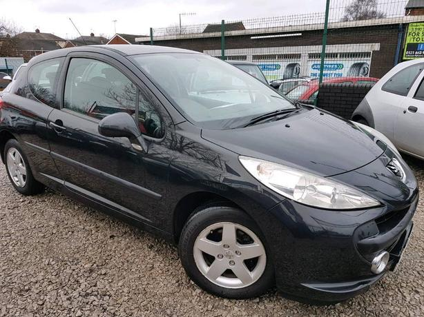 09 PEUGEOT 207 1.4 VERVE * 70K GENUINE MILEAGE * PX WELCOME