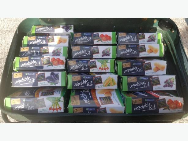 joblot of grow your own vegetables kits
