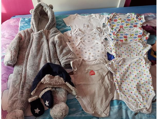 baby boys 6-9 month bundle