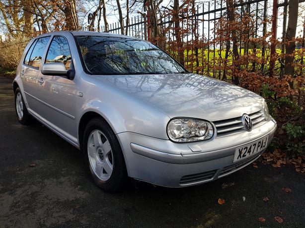 2000/X Volkswagen Golf 1.9 GT TDI 5door sliver