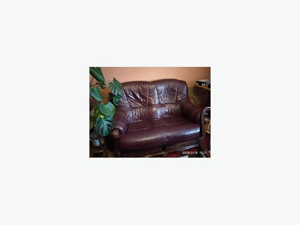 FREE: Leather settee