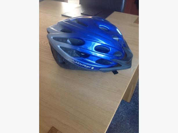 MUDDYFOX bike/cycle helmet 54-58cm VGC