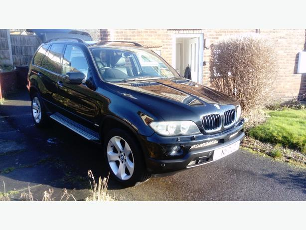 BMW X5 sport auto 4x4 3l petrol 2004