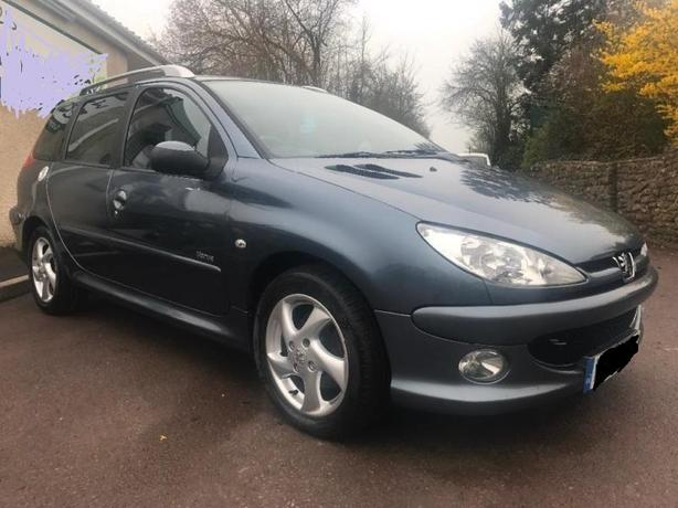 Peugeot 206 SW 1.6HDi Verve estate - low miles & long MOT !