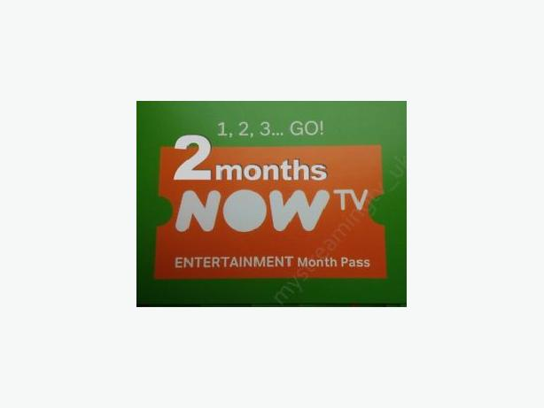 FREE: NowTV 60 Day Sports, Entertainment & Movie Pass (x5)