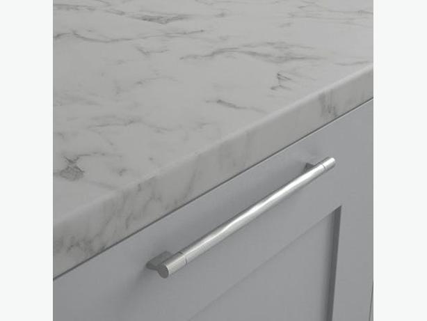 3000 x 600 x 40mm Kitchen Worktop - Carrera Marble Matt - BRAND NEW