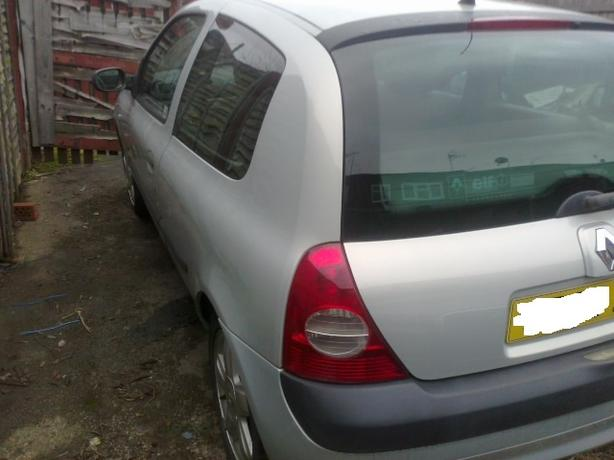 RENAULT CLIO 2003 1.2 ANTHENTIQUE