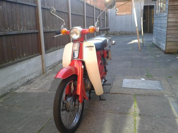 honda c70 1978