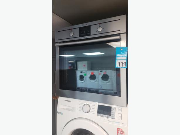 Integrated/Built In AEG Stainless Steel Electric Oven with 4 MONTHS WARRANTY