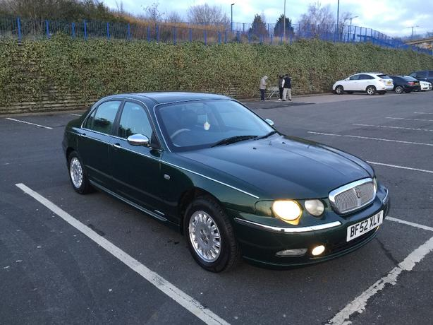 Rover 75 2.5 v6 auto connosseur in mint condition long mot hpi clear px swap.