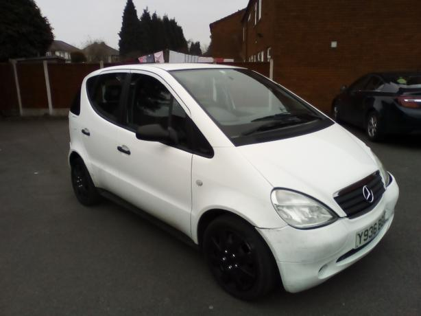 MERCEDES A class 1.4 Automatic 2001 WHITE 1.4 Petrol,