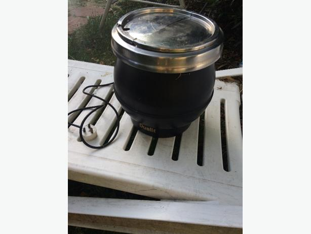 Dualit soup urn