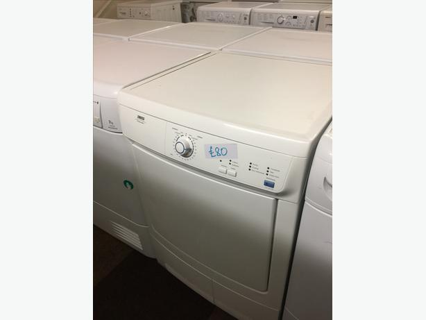 6KG ZANUSSI CONDENSER DRYER GOOD CONDITION🌎🌎PLANET APPLIANCE🌎