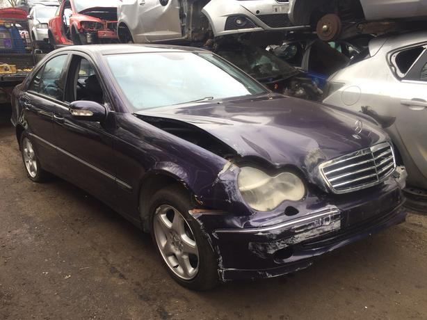 mercedes c200 2002 2.0 petrol purple 5dr Breaking For Spares - wheel nut