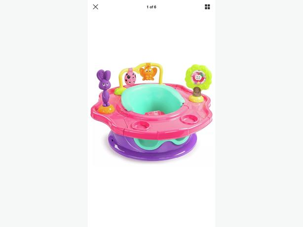 Girls Activity summer infant 3 stage super seat