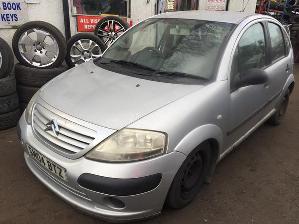 citroen c3 2004 1.1 petrol silver 5dr Breaking For Spares - wheel nut