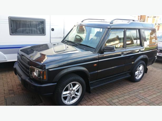 2004 LAND ROVER DISCOVERY TD5 AUTO BLUE 7 SEATER FACELIFT FULL MOT
