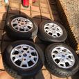 Ford Transit Alloy wheels