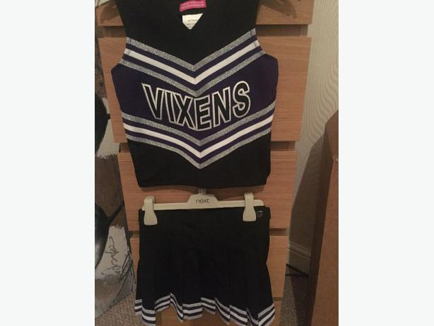 girls cheerleasdind costume 7-8