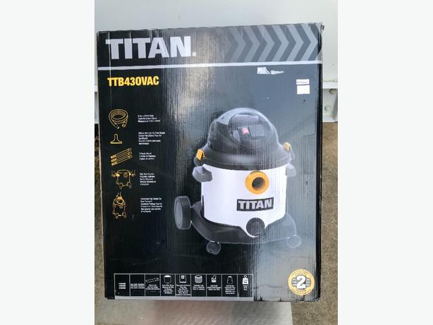 Titan 430 vaccum