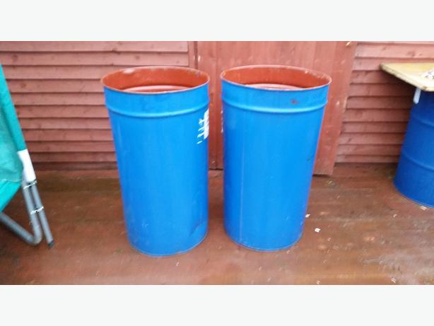 barrels bins