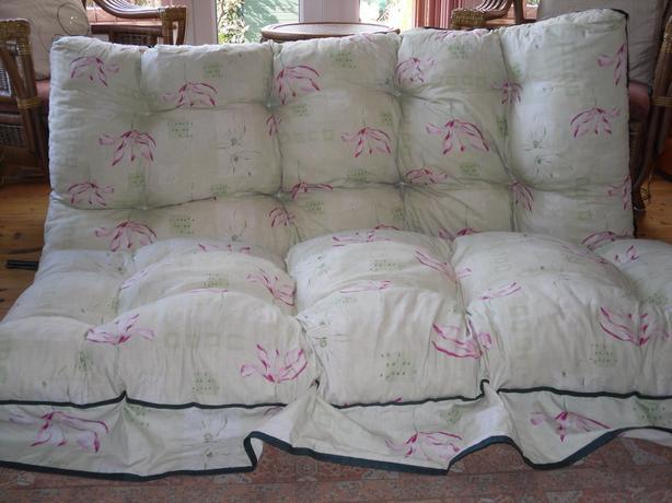Garden swing seat cushions