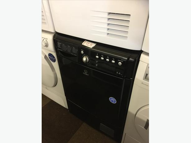 8KG BLACK INDESIT CONDENSER DRYER GOOD CONDITION🌎🌎PLANET APPLIANCE🌎