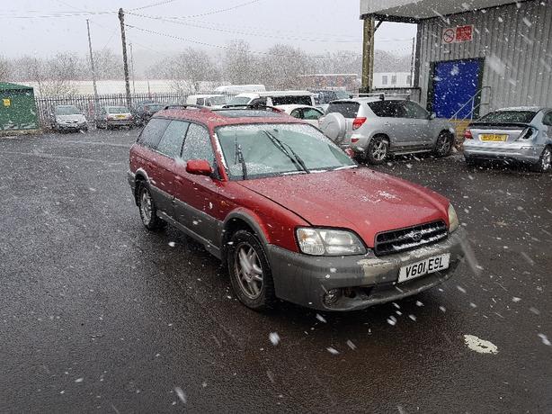 Subaru outback auto lpg