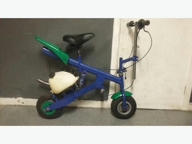 petrol monkey bike