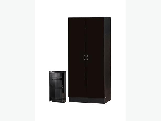 "2 DOOR WARDROBE 30"" WIDE - BRANDNEW *"