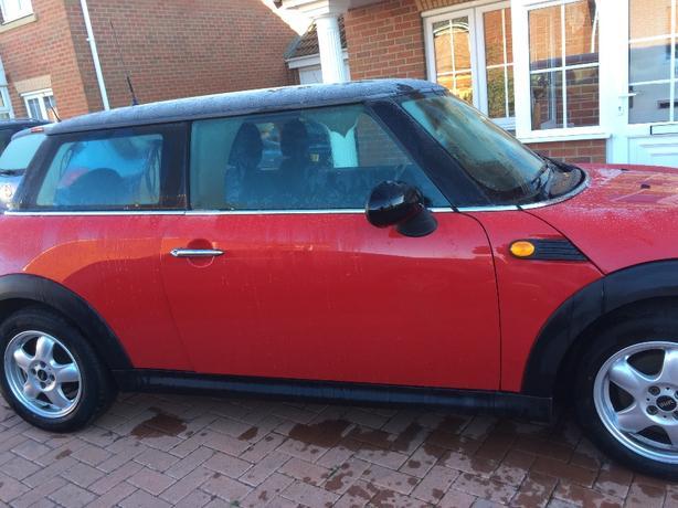 2007 mini cooper 1,6 petrol