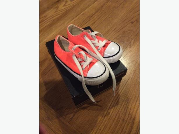 Converse trainers, infant size 7.