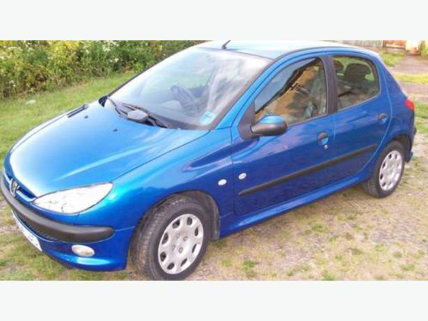 peugeot 206 1.4 s 1 owner from new
