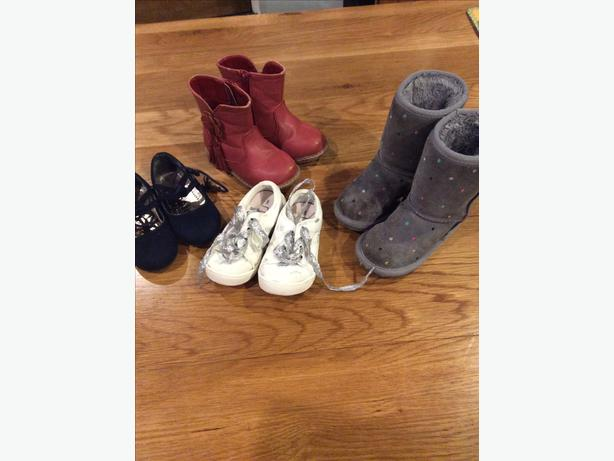 Selection of girls shoes size infant 6