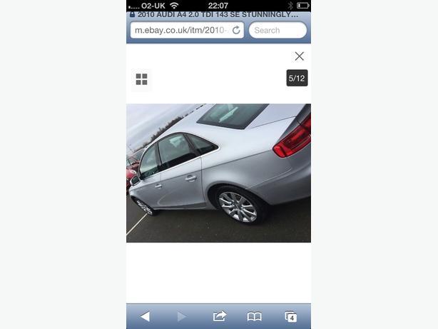 Audi a4 2010 swaps ???