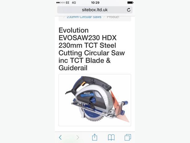 evolution circular brand new in box