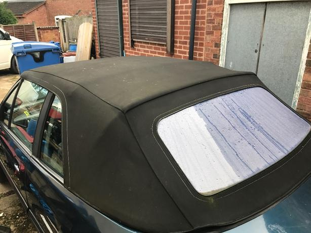 rover cab mohair roof