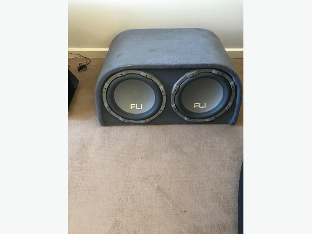 fli double sub and amp