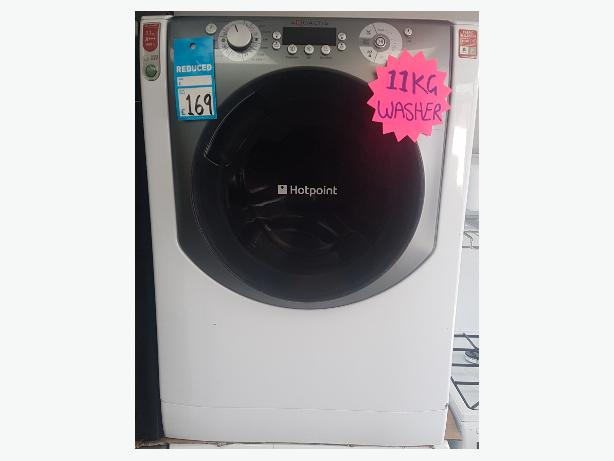 Hotpoint 11kg Load 1400spin Washing Machine with 4 MONTHS WARRANTY