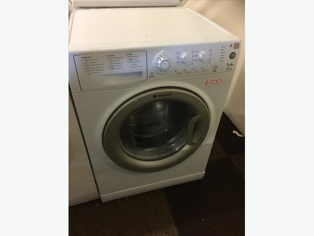 7KG HOTPOINT WASHING MACHINE WITH GUARANTEE🌎🌎PLANET APPLIANCE🌎