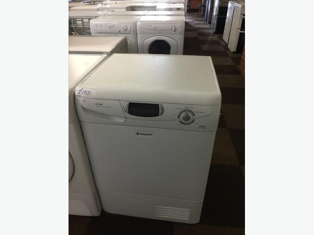 7KG HOTPOINT ULTIMA CONDENSER DRYER GOOD CONDITION🌎🌎PLANET APPLIANCE🌎🌎