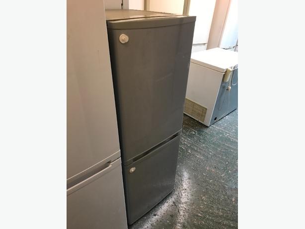 silver fridgefreezer free deilvery
