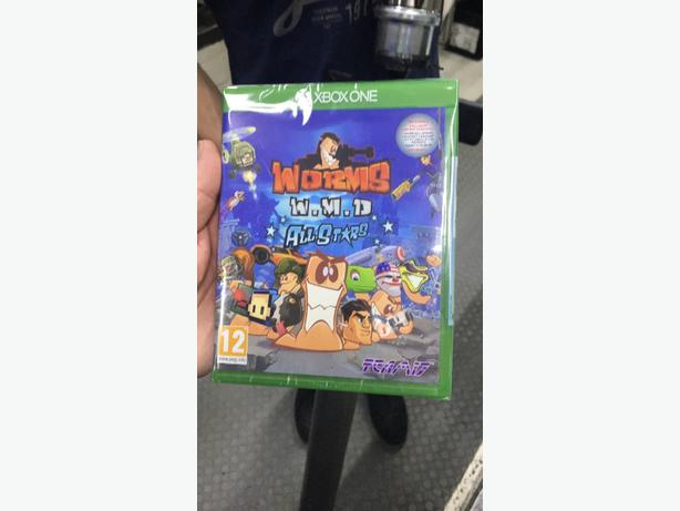 Worms all stars Xbox one