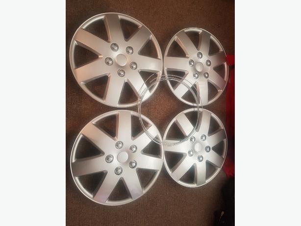 brand new set of 4 15inch wheel trims