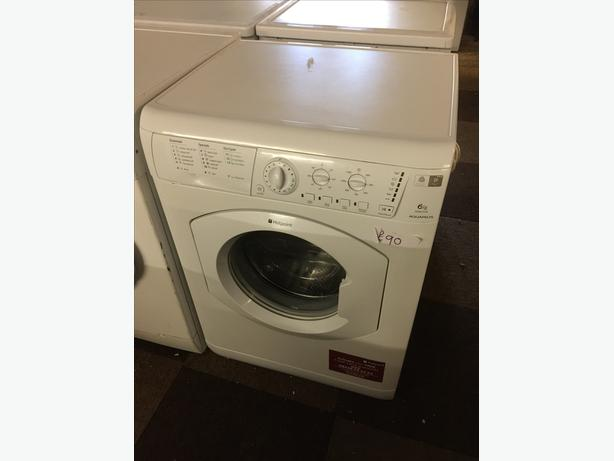 6KG HOTPOINT WASHING MACHINE GOOD CONDITION🌎🌎PLANET APPLIANCE🌎